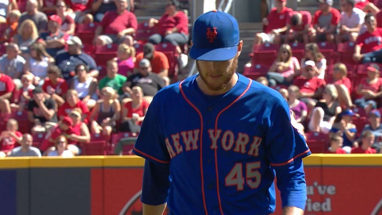 Wheeler, Recker's homer send Mets to series win