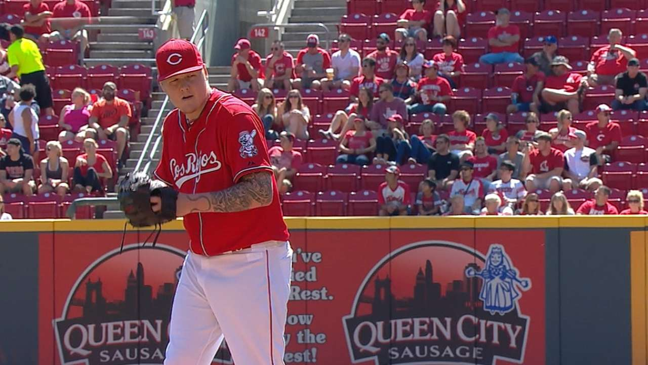 Reds say Latos won't make another 2014 start