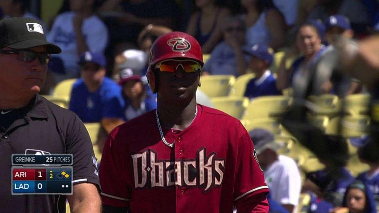Cahill, D-backs no frenaron las escobas de Dodgers