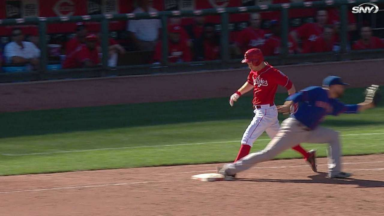 Replay extends ninth, but Reds can't capitalize