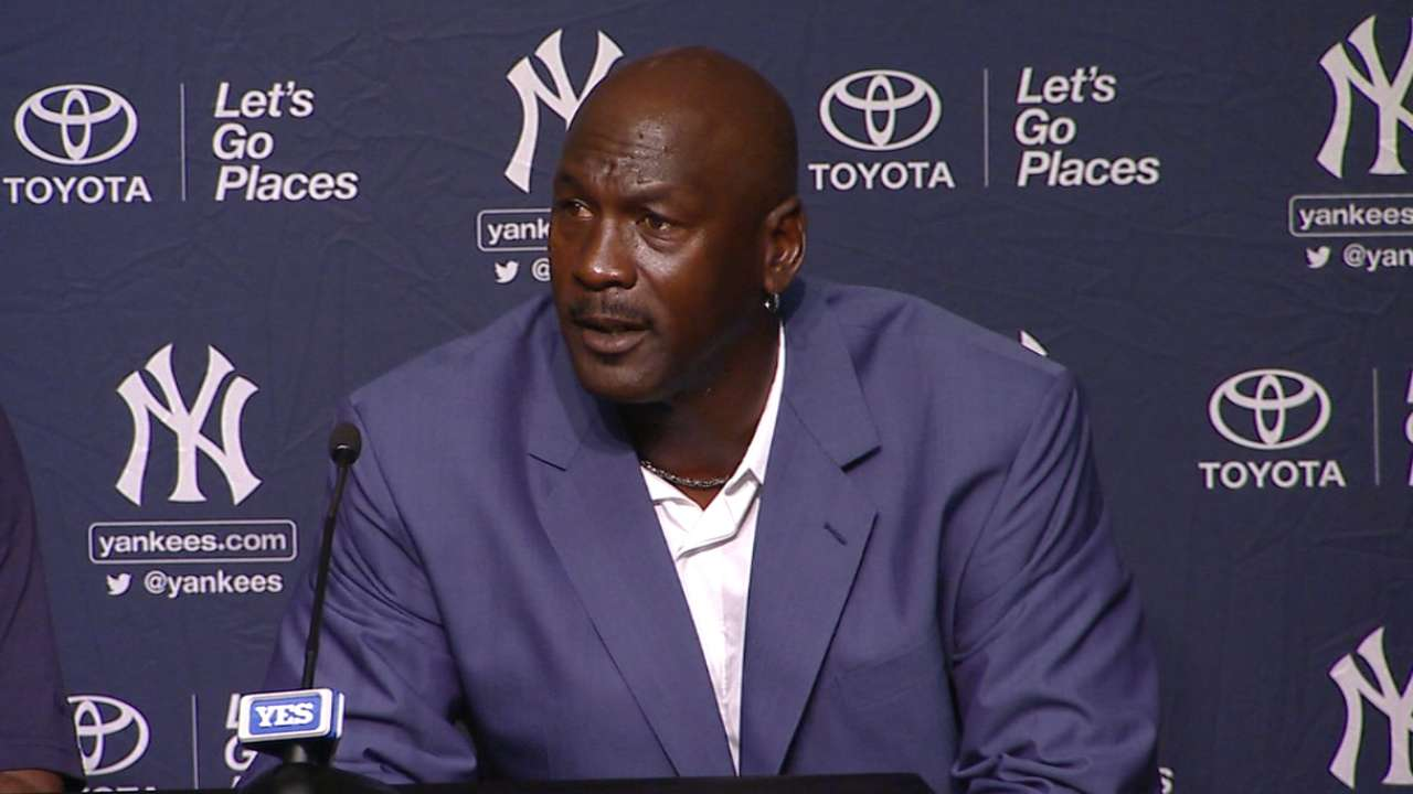 Jordan's presence put Jeter's career in perspective