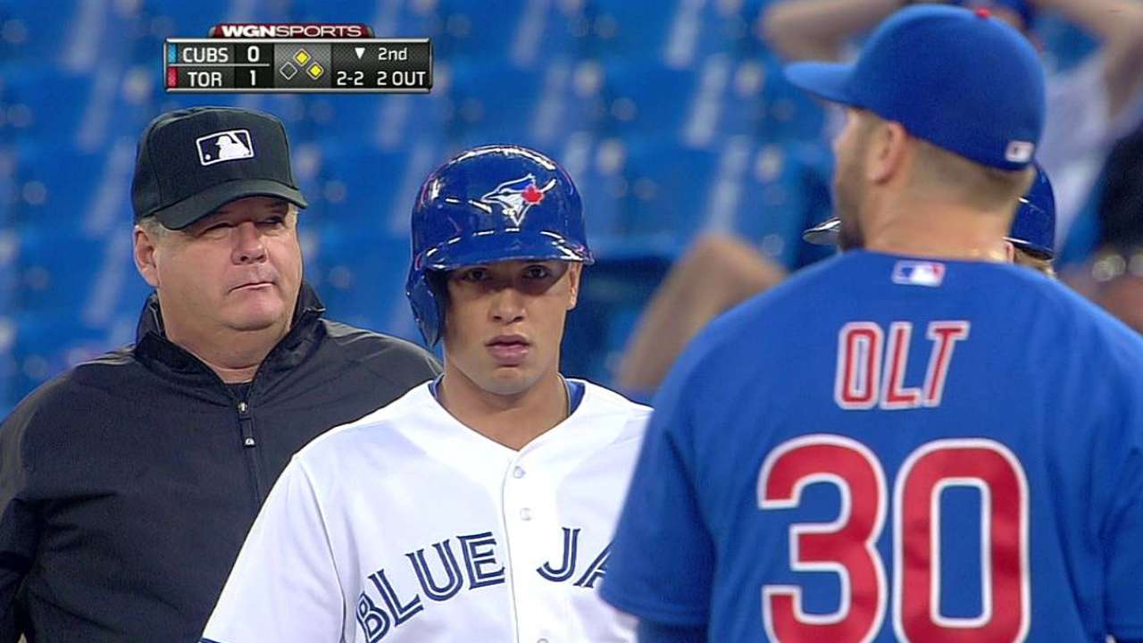 Cubs can't solve Toronto rookie Stroman