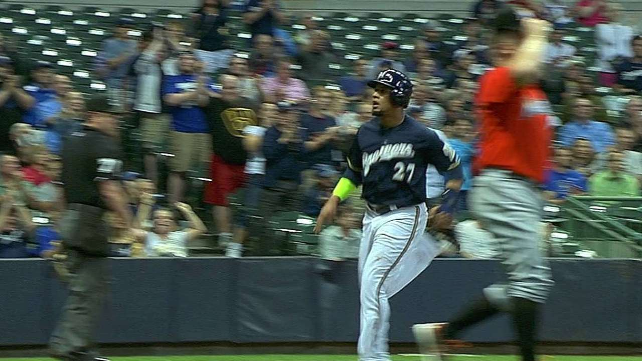 Brewers lose more Wild Card ground with loss to Fish