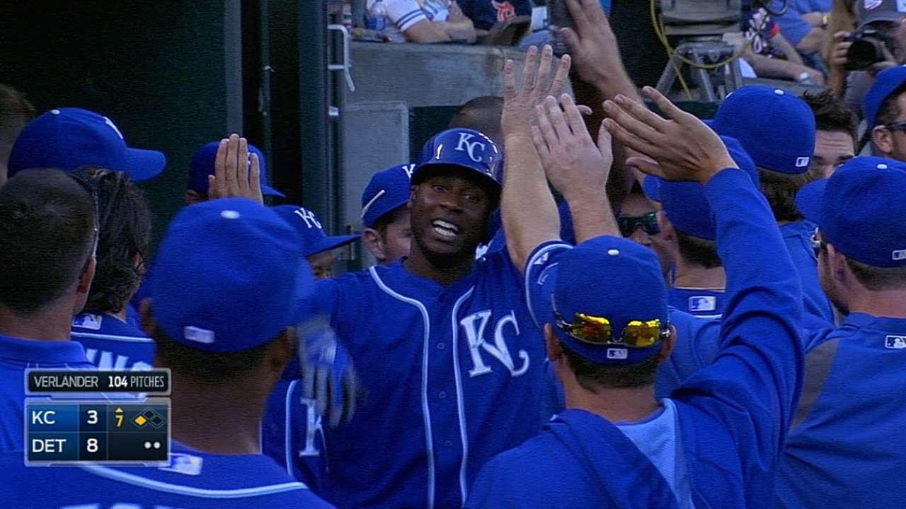 Guthrie roughed up as Royals drop opener in Detroit