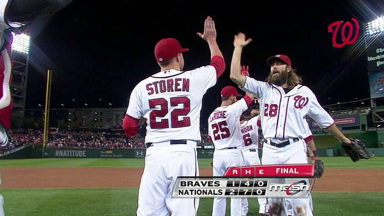 Nationals looking good with multiple closers