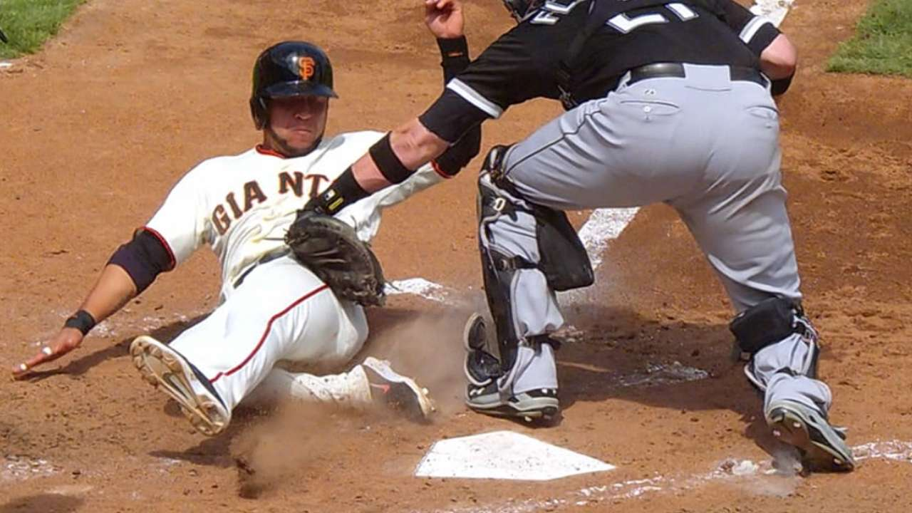 Guidance on plays at plate to be announced