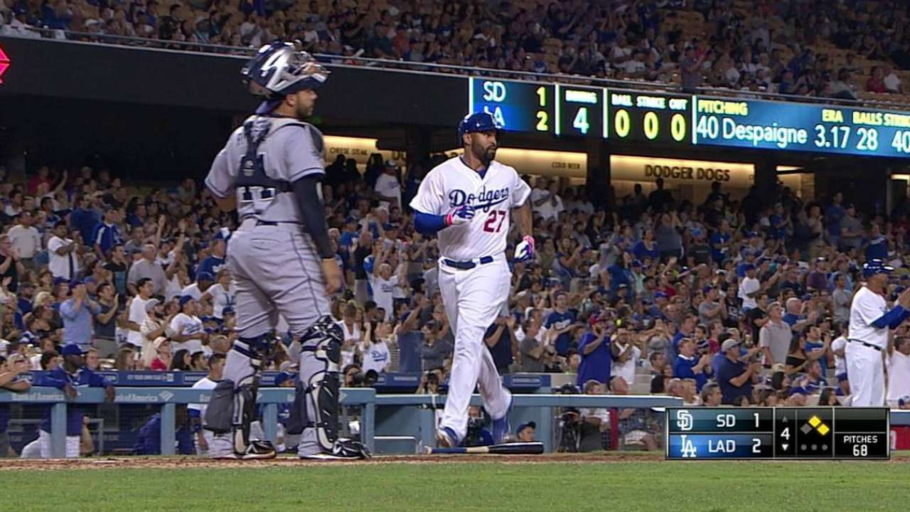 Puig bats leadoff, while Turner gets call over Gordon