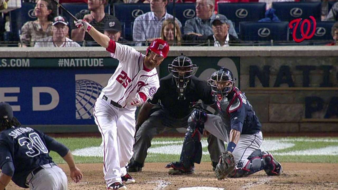 Nats start fast vs. Braves to cut magic number to 10
