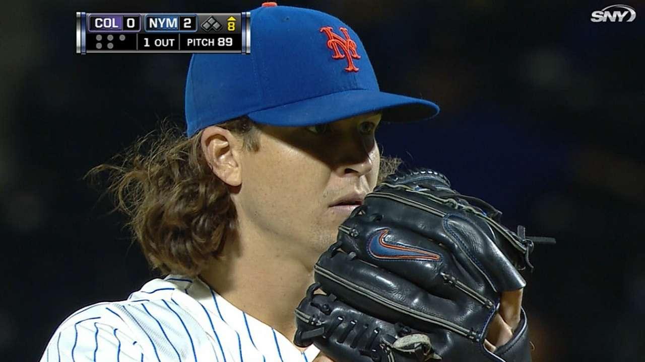deGrom dominates Rockies as Mets take series