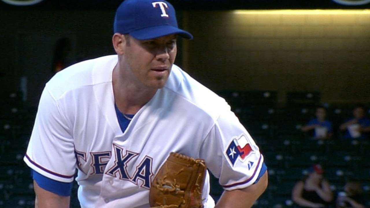 Rangers can't get Lewis off hook against Halos