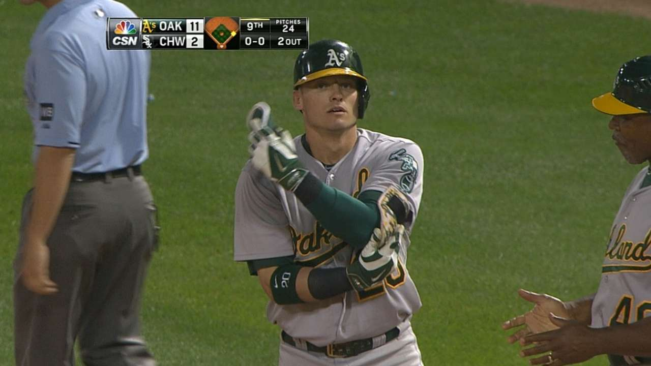 Donaldson reverses course with five-hit night