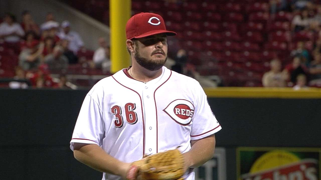 Lefty Holmberg projects as back-of-rotation starter for Reds