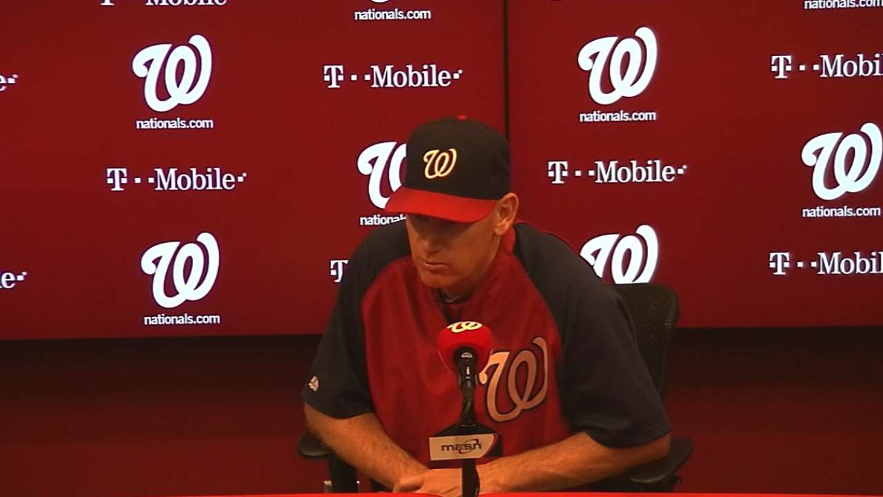 Nats would like extra oomph from Strasburg