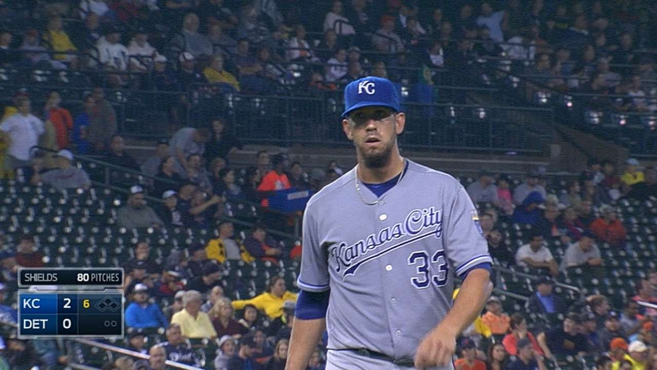 Shields' seven stellar innings