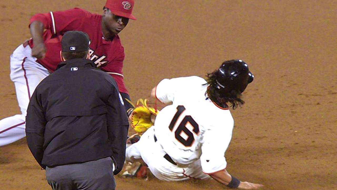D-backs earn caught-stealing after challenge
