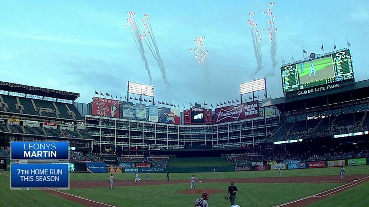 Rangers drop series finale to division-rival Angels