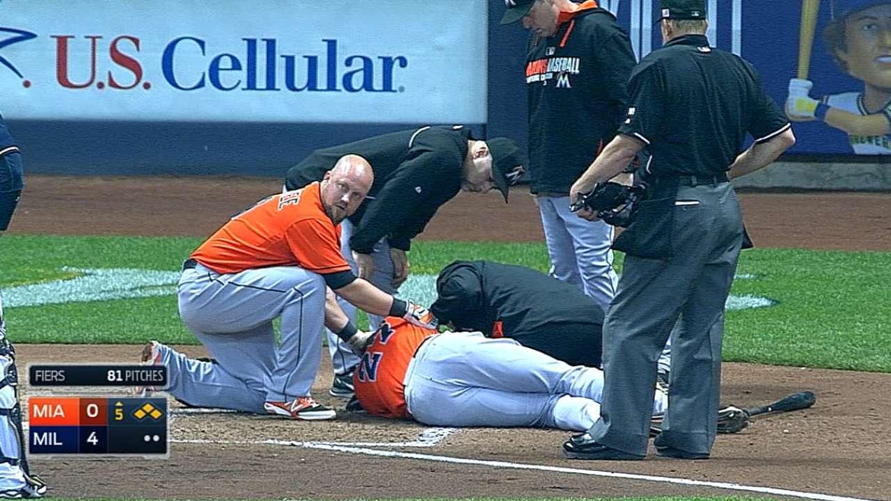 MLB impone castigos tras pelotazo a Stanton
