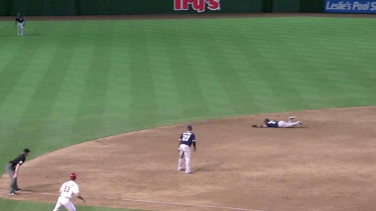Amarista earning praise for work at shortstop