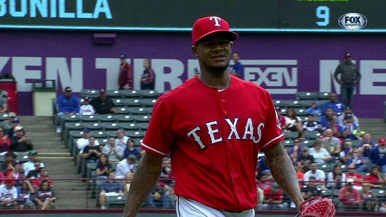 Texas se impuso a Bravos con racimo en el sexto