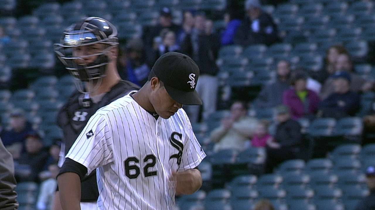 Quintana's 13 K's pave way for Game 1 Sox win