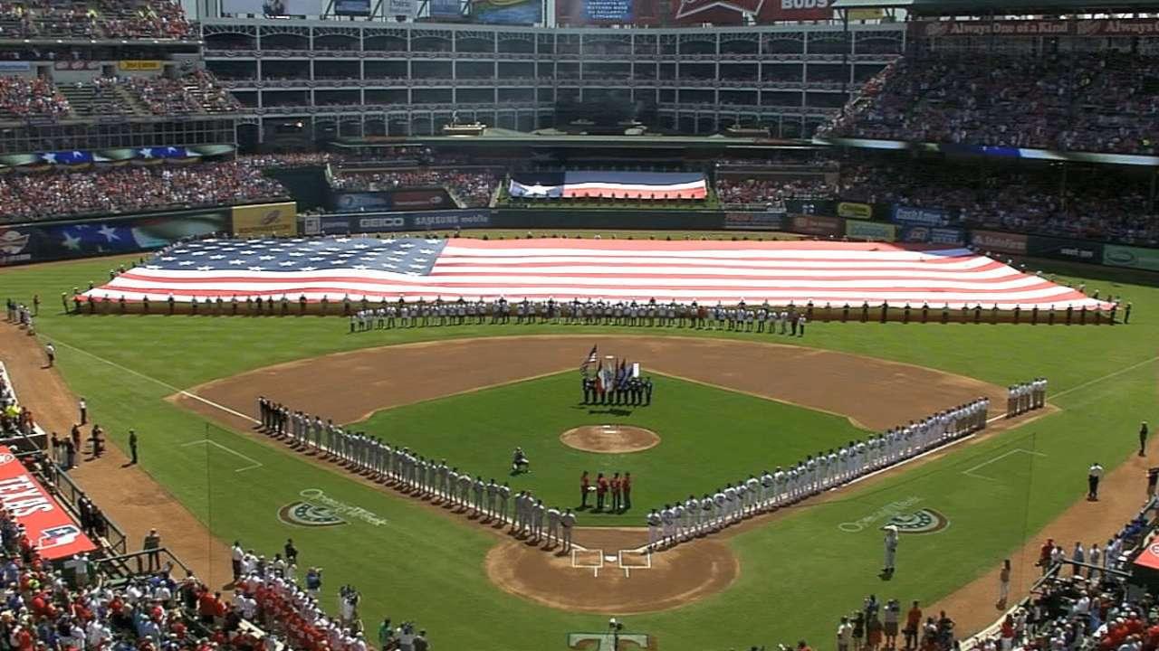 Key connections: Star-Spangled Banner, baseball forever linked