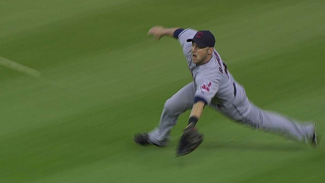 Raburn's season ends with left knee surgery