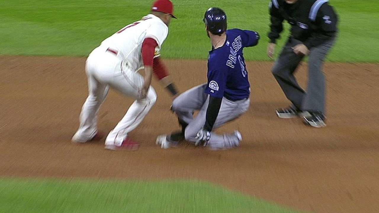 Cuddyer runs bases with no hamstring issues