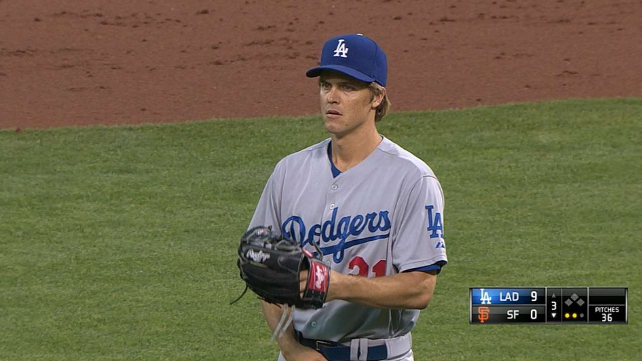 Dodgers stomp Giants in record-setting night