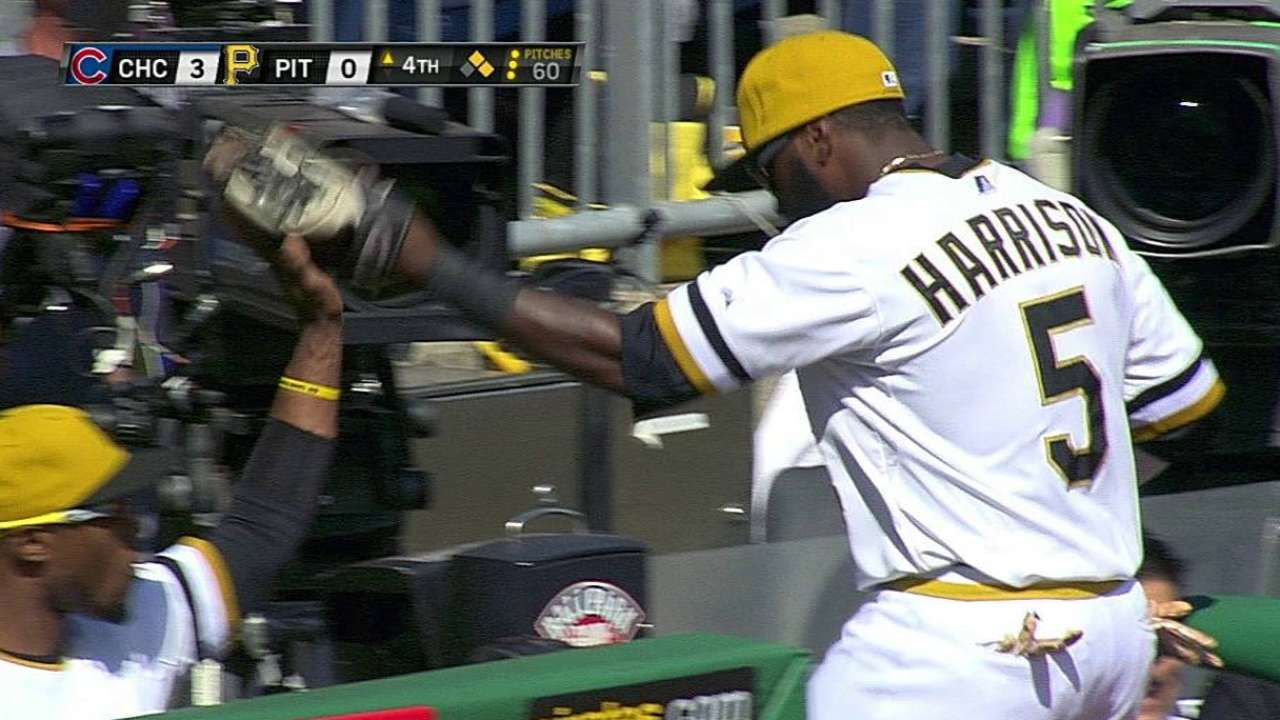 Bucs turn first triple play in PNC Park history