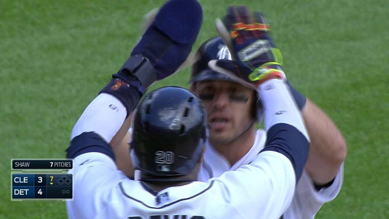 Two for three: another late homer gives Tigers sweep