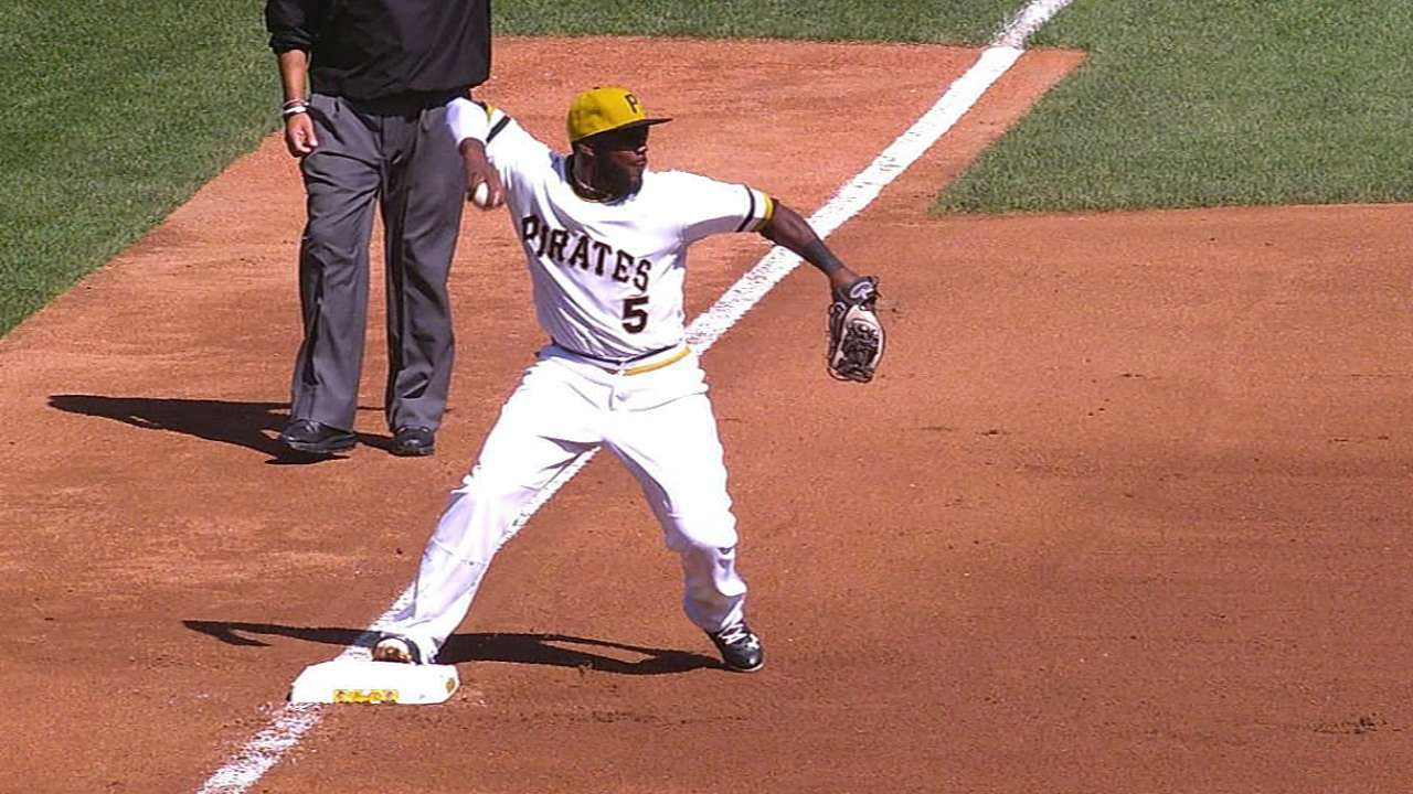 Turner, Cubs flat after Pirates turn triple play