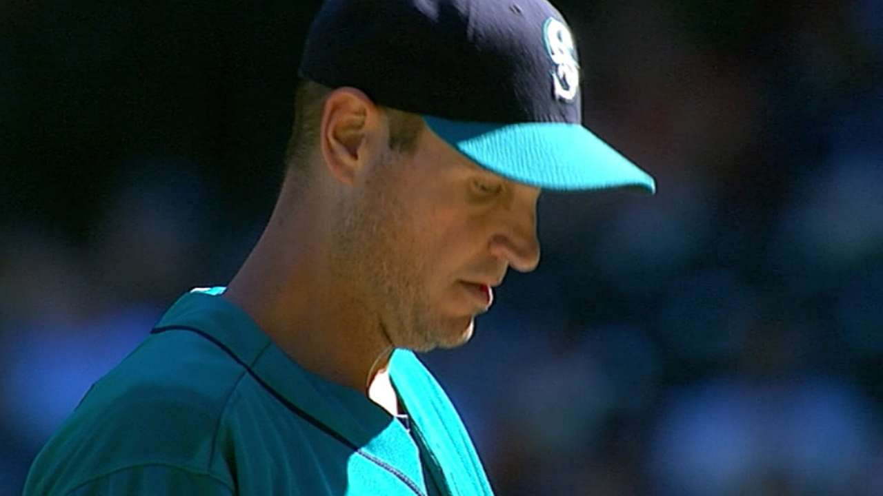 Mariners move Young out of rotation