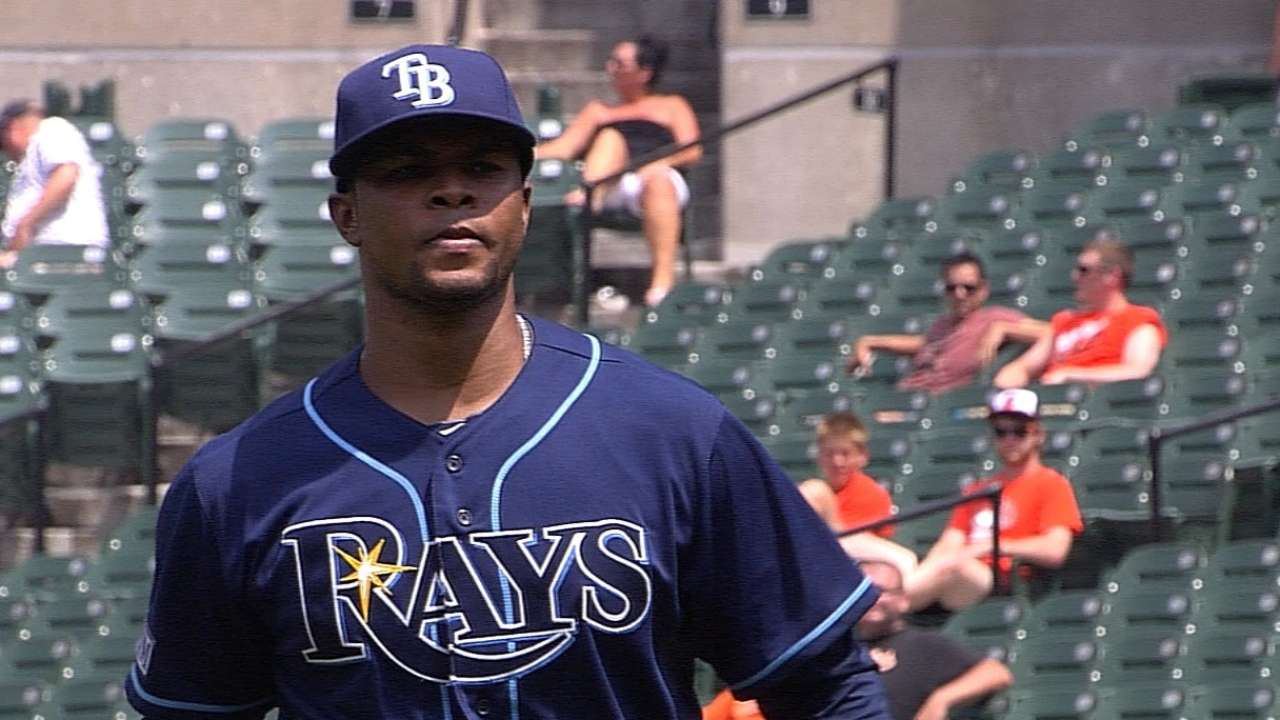 Trio of callups out to make an impression on Rays