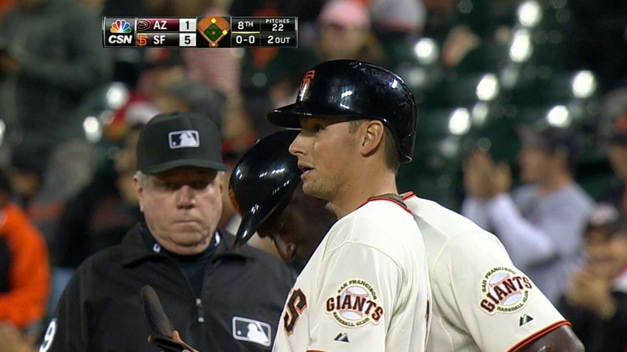 Rookie in name only, Panik has it under control