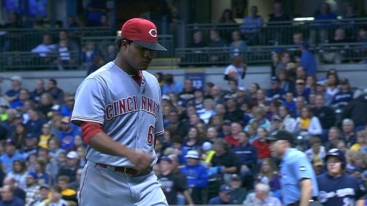 Reds pondering Corcino's future as starter