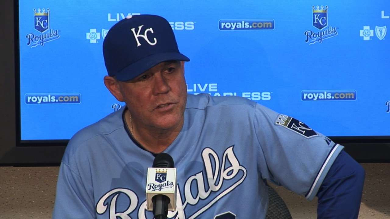 With playoffs on the line, all eyes on Yost's handling of Royals