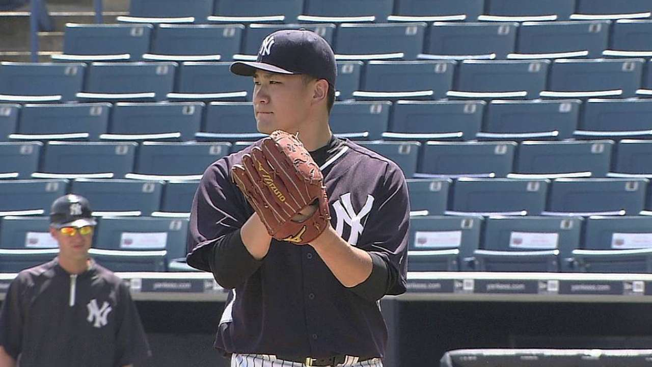 Tanaka faces Minor Leaguers, may return this weekend