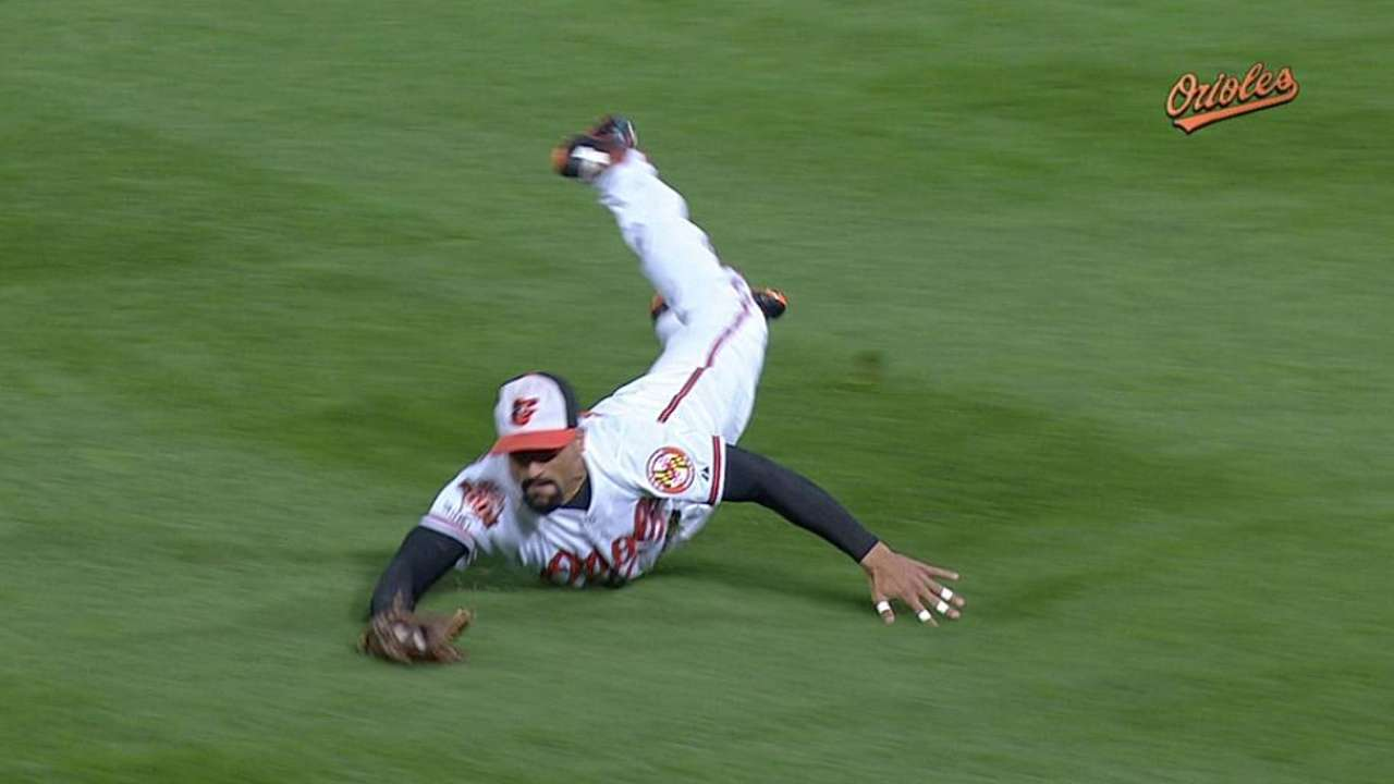 Markakis nominated for Clemente Award