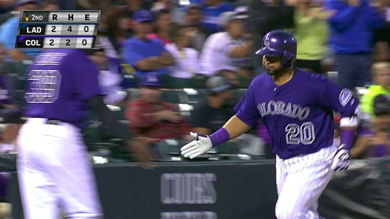 Rockies miss chances before Dodgers pull away