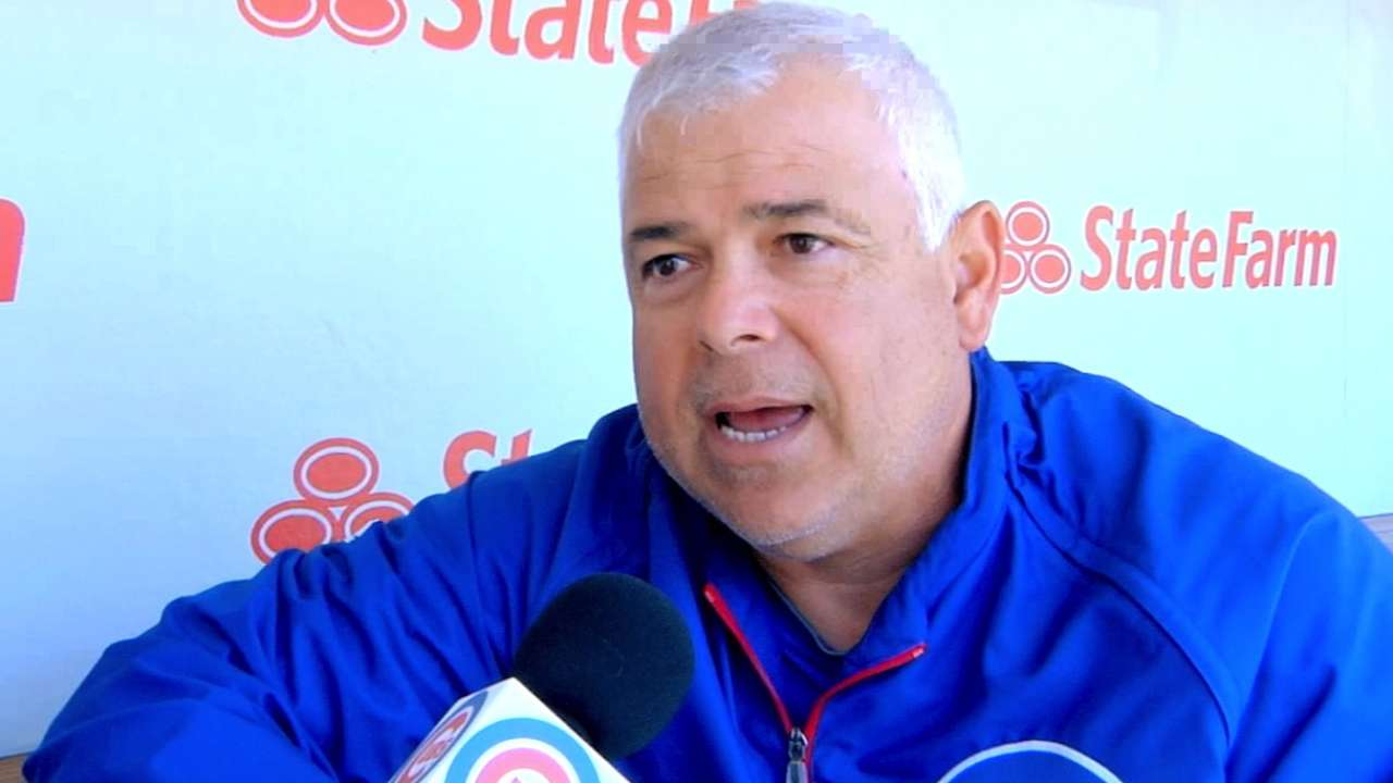 First-year manager Renteria already looking ahead
