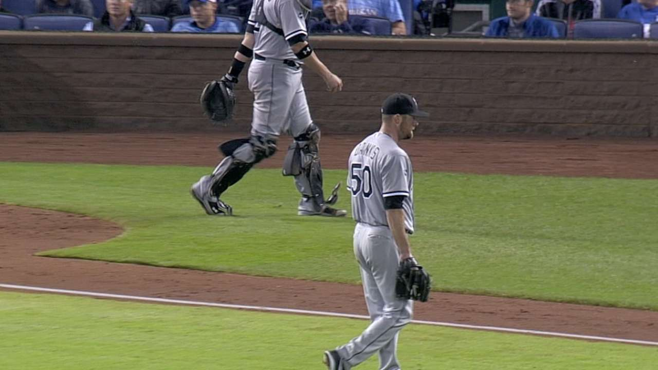 White Sox 'pen burned by KC's speed in ninth