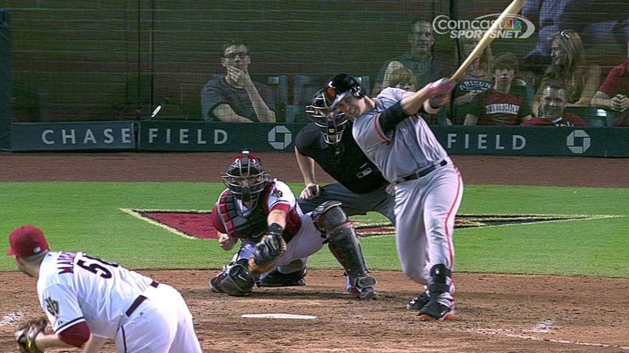 Grand slam costly to Giants' playoff chase