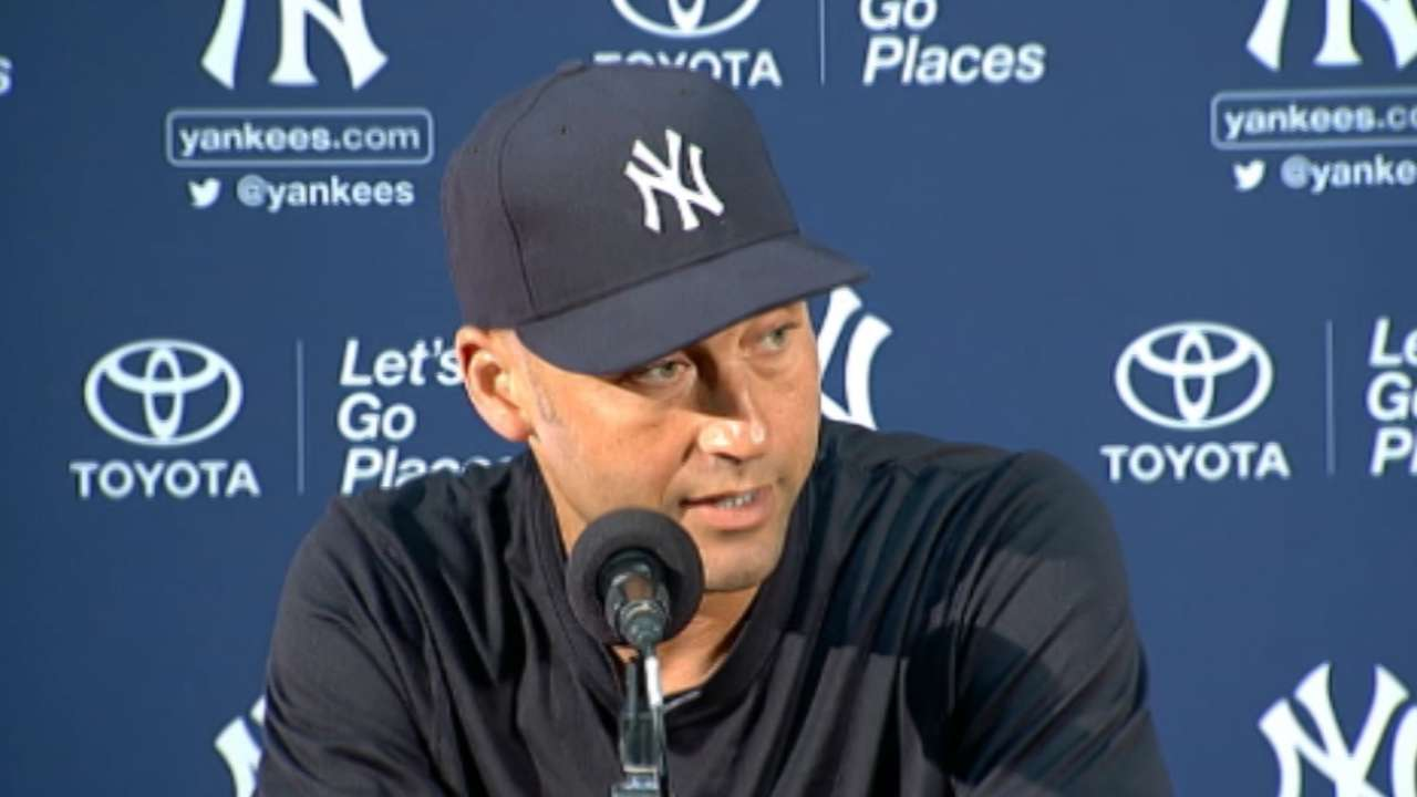 Coffee clutch: Jeter maintains rigid daily routine