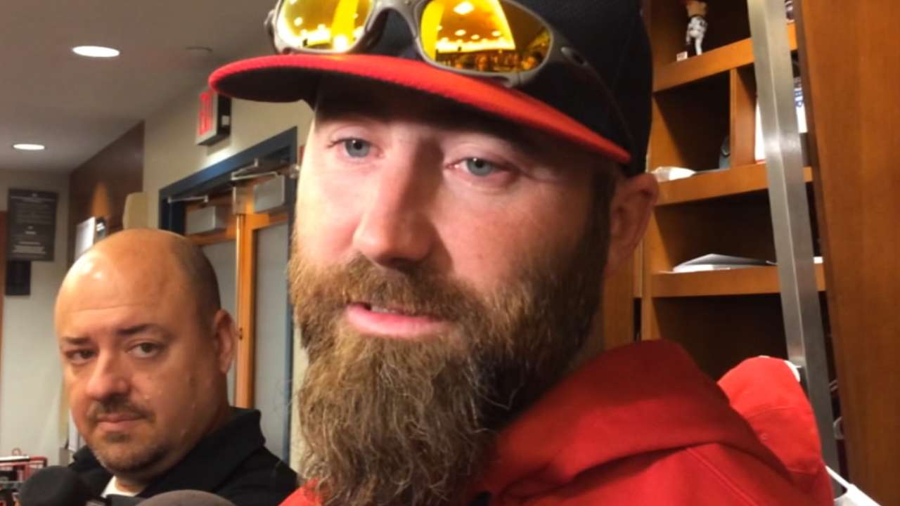 Motte named Cards' Clemente Award nominee