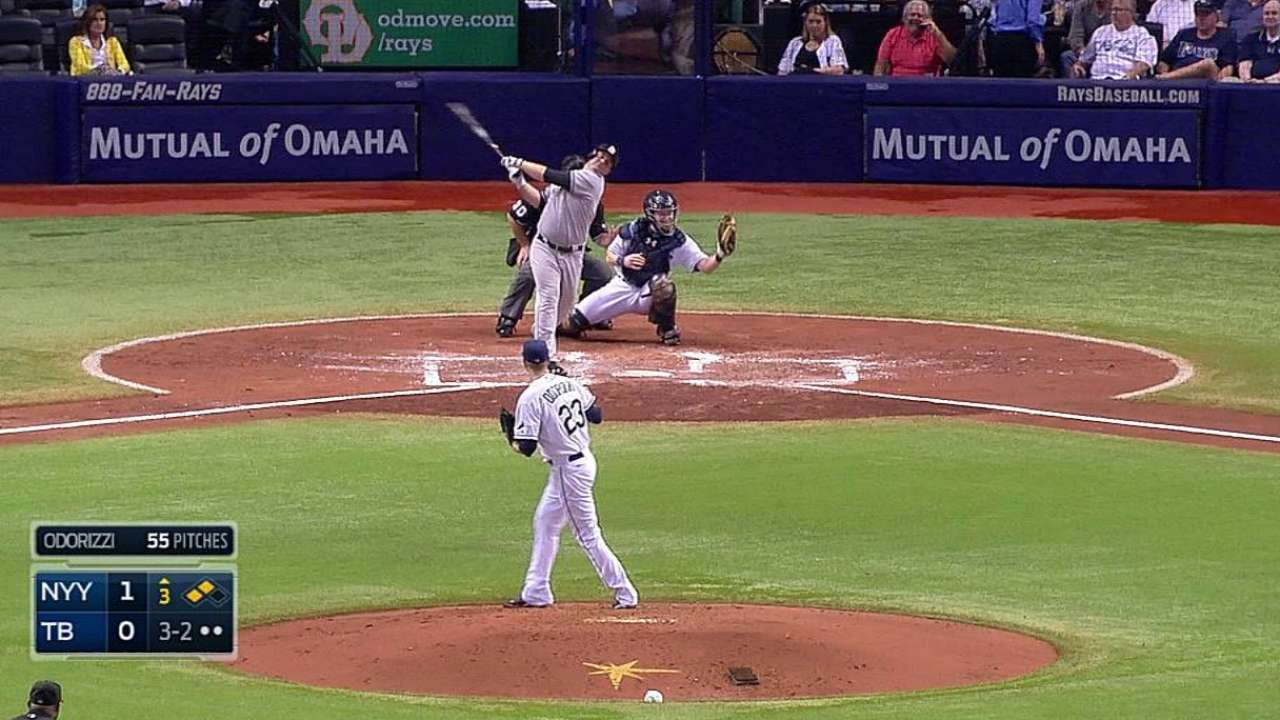 Rays chasing Tribe for strikeout mark