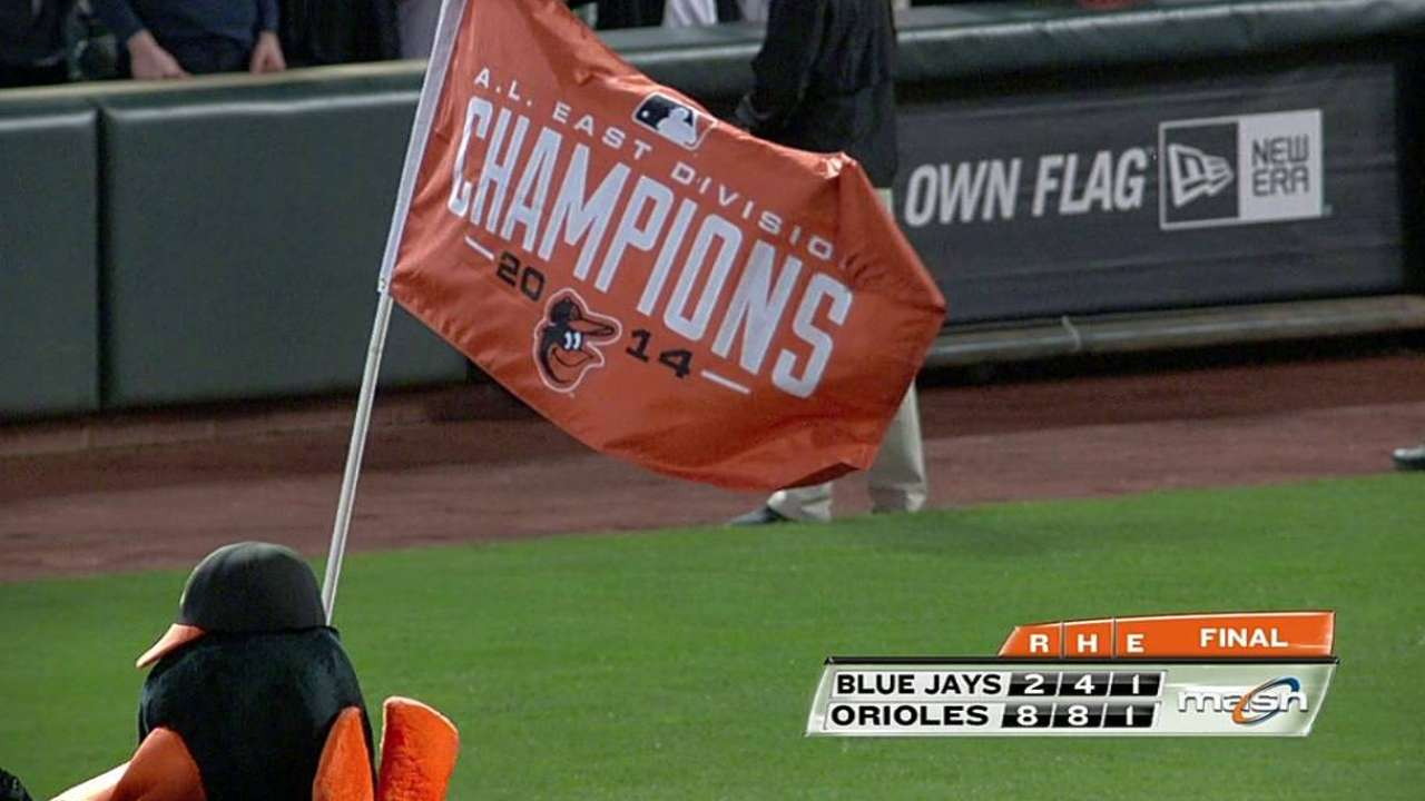 O's East title built on belief in each other
