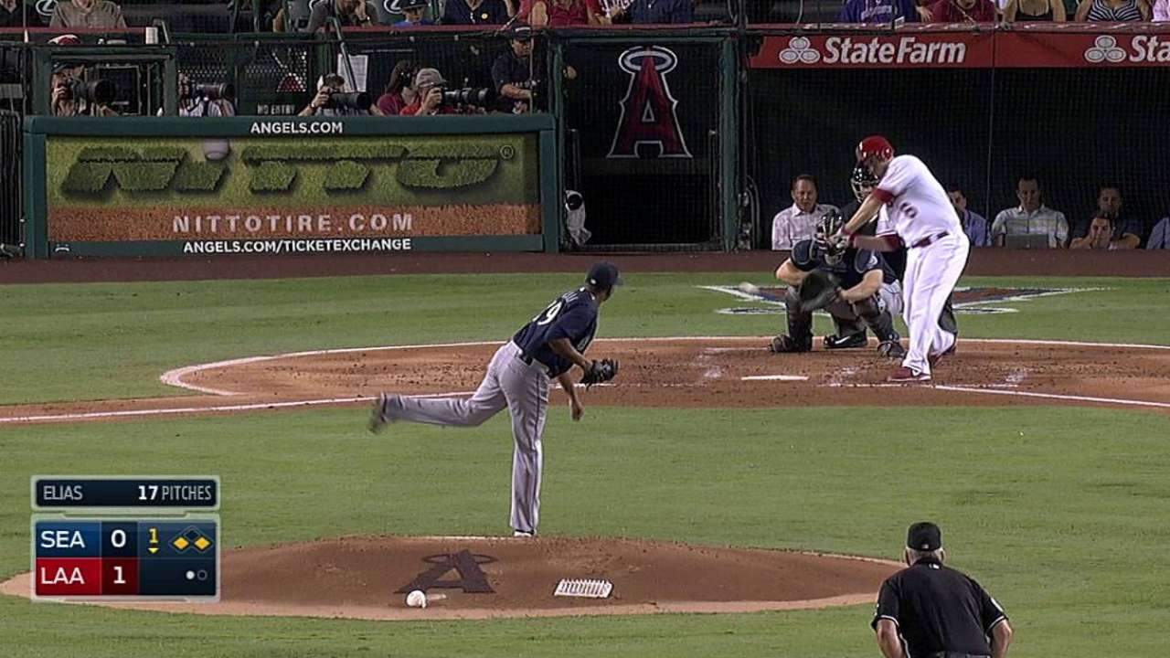 Angels' Freese is heating up at the right time