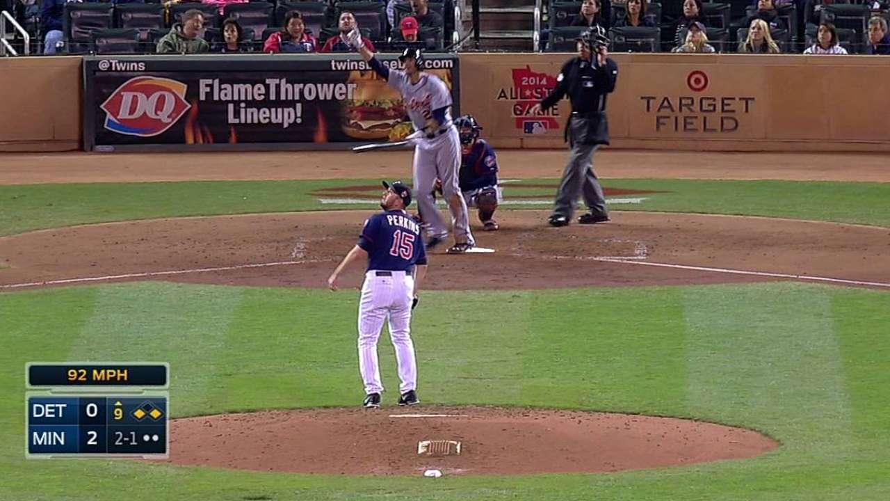 Tigers' postseason push hits a snag vs. Twins