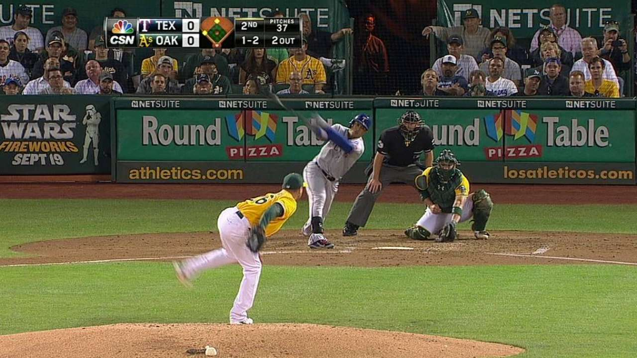 Sloppy A's miss chance to increase Wild Card lead