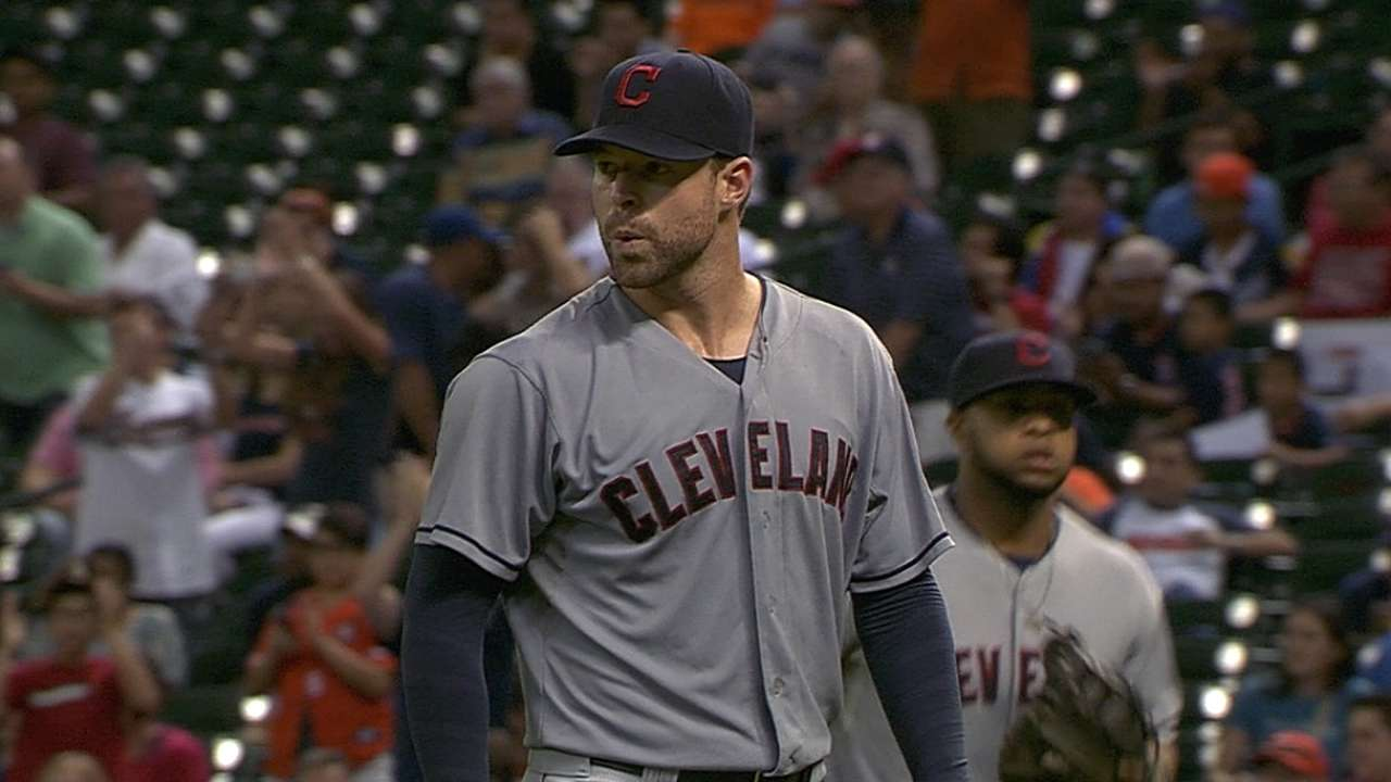 Kluber's career-high 14 K's lead Tribe to 'W'